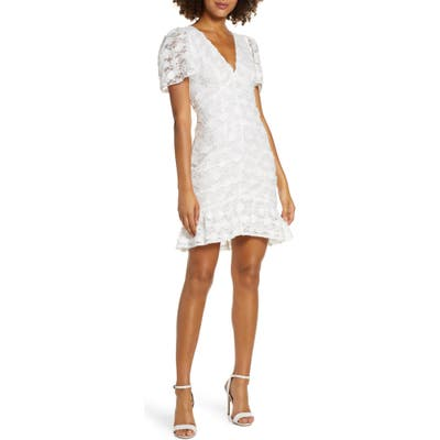 Foxiedox Lou Lace Dress, White