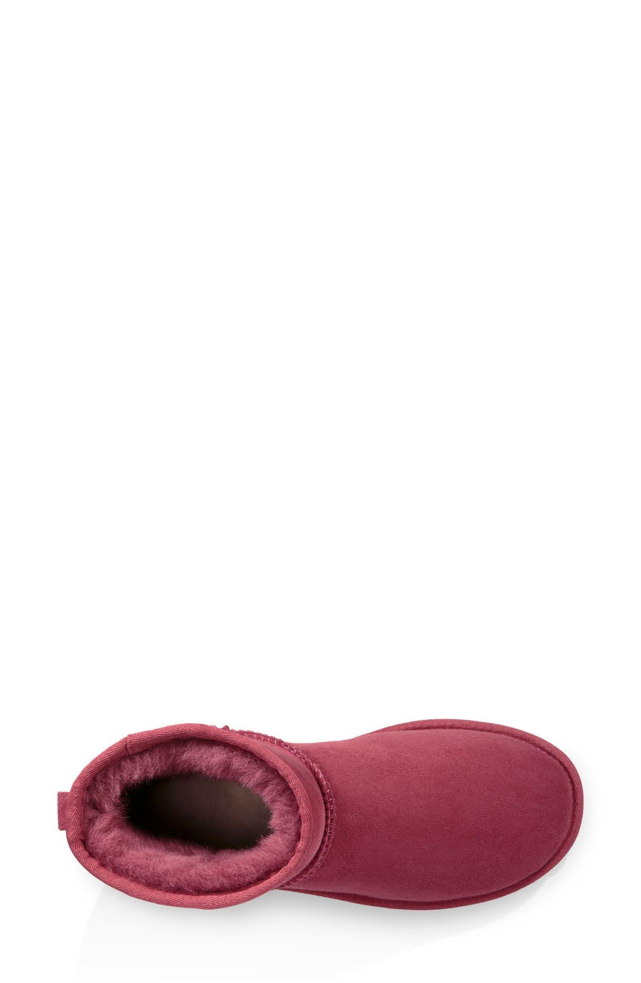 ,                             Classic Mini II Genuine Shearling Lined Boot,                             Alternate thumbnail 74, color,                             602