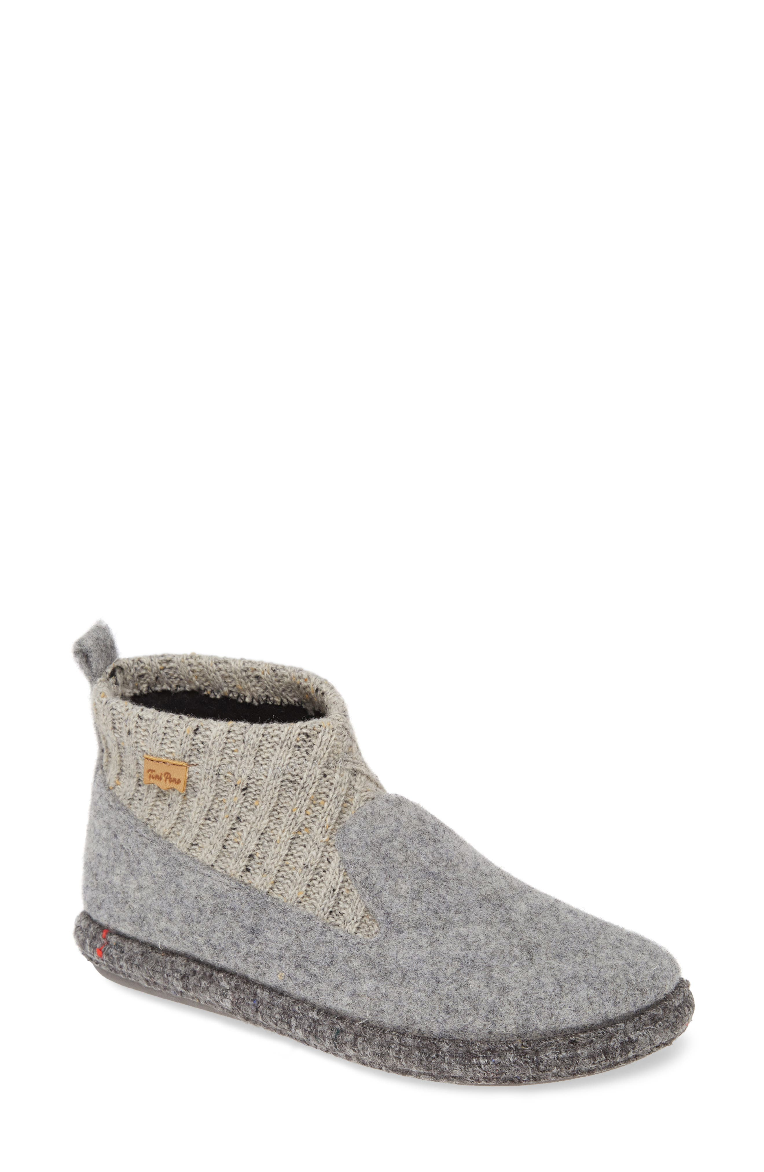 A ribbed cuff and faux-fur lining make this slipper a cozy must-have, with a durable sole that\\\'s ideal for outdoor wear as well. Style Name: Toni Pons Mini Scuff Slipper (Women). Style Number: 5949974. Available in stores.