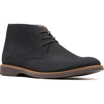 Clarks Atticus Limit Chukka Boot- Black