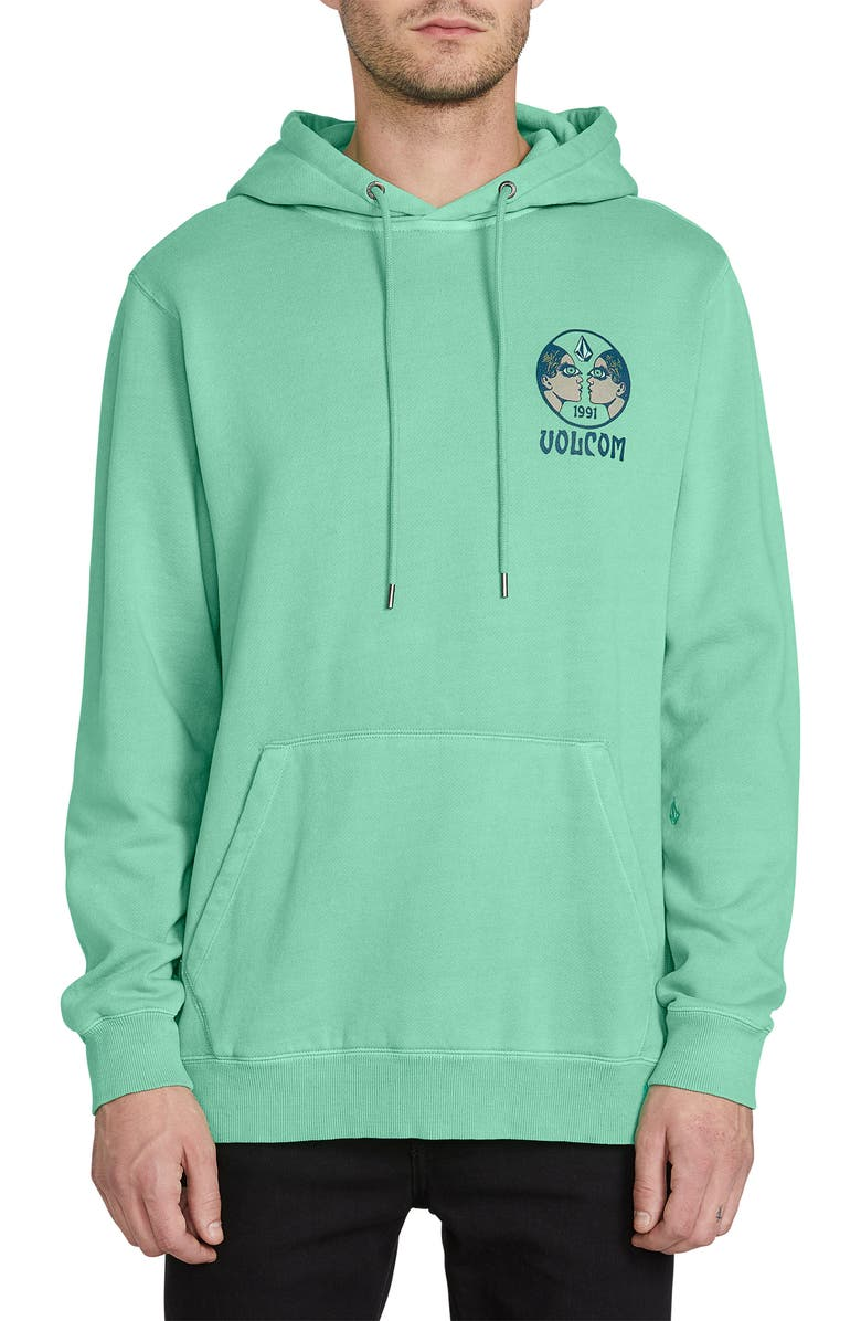 VOLCOM Vodomat Hooded Sweatshirt, Main, color, 378
