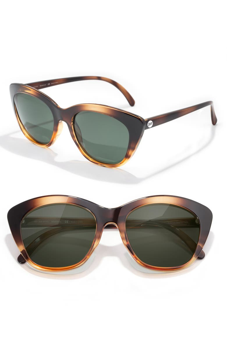 SUNSKI Mattinas 52mm Polarized Sunglasses, Main, color, TORTOISE FOREST