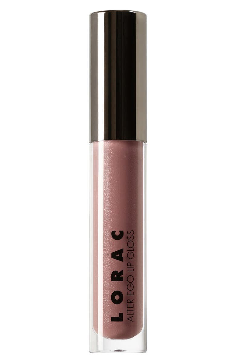 LORAC 'Alter Ego' Lip Gloss, Main, color, SECRET AGENT