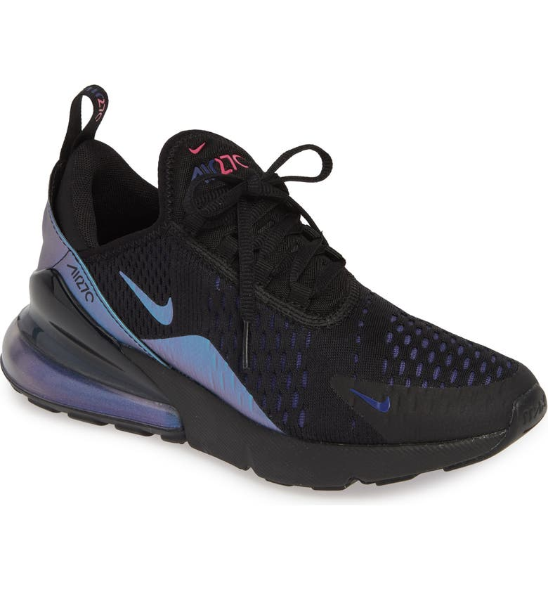 22edd4c649615 Air Max 270 Premium Sneaker, Main, color, BLACK/ FUCHSIA/ PURPLE