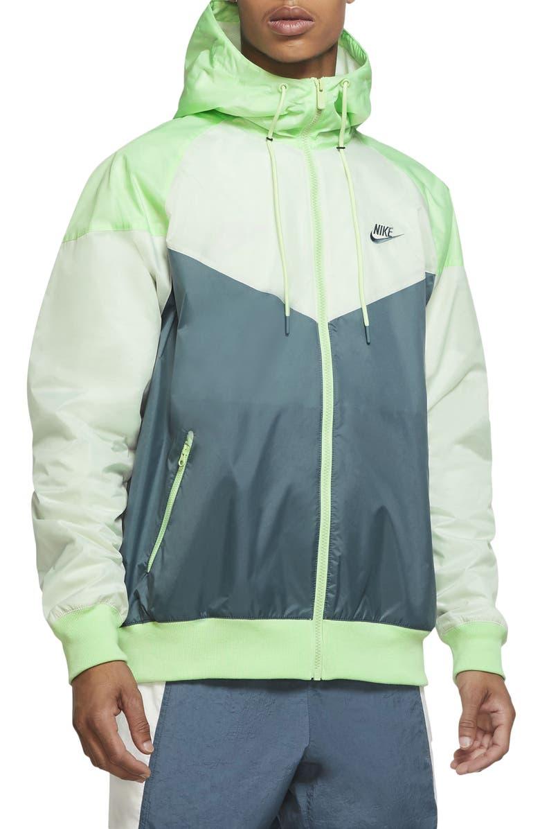 NIKE Sportswear Windrunner Jacket, Main, color, ASH GREEN/CUCUMBER/SPRUCE AURA