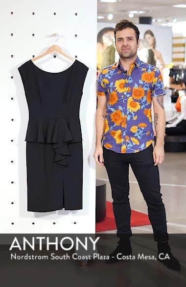 Peplum Sheath Dress, sales video thumbnail