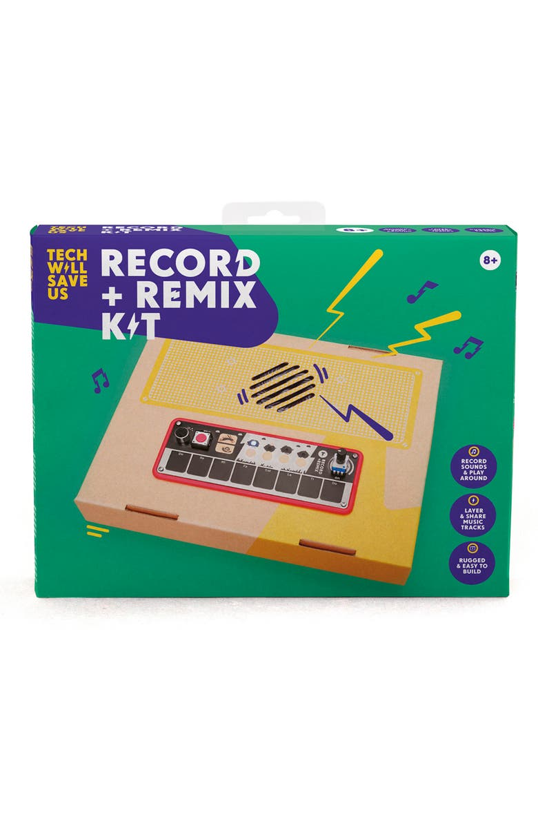 TECH WILL SAVE US Record + Remix Kit, Main, color, 960