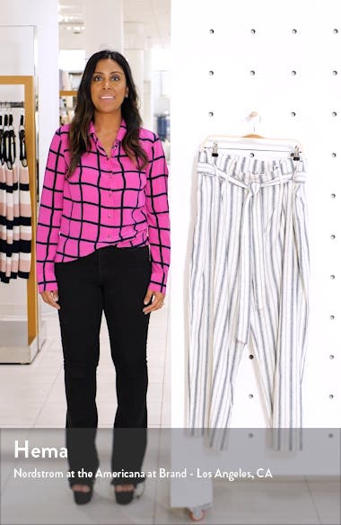 Paperbag Waist Ankle Trousers, sales video thumbnail