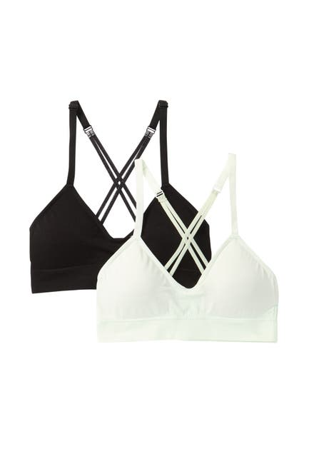 Image of Jessica Simpson Seamless Criss-Cross Bralette - Pack of 2