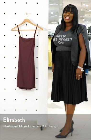 Solange Open Back Body-Con Dress, sales video thumbnail