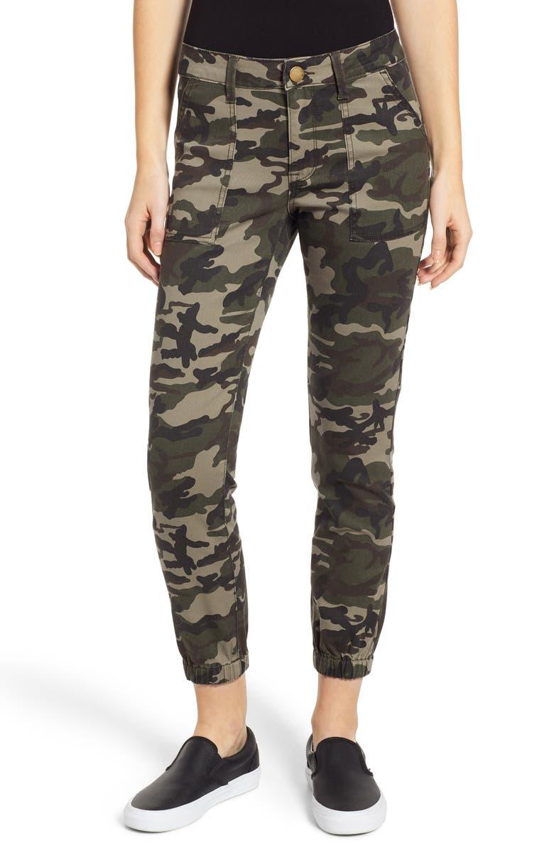 PROSPERITY DENIM Camo Utility Jogger Pants, Main, color, CAMO PRINT