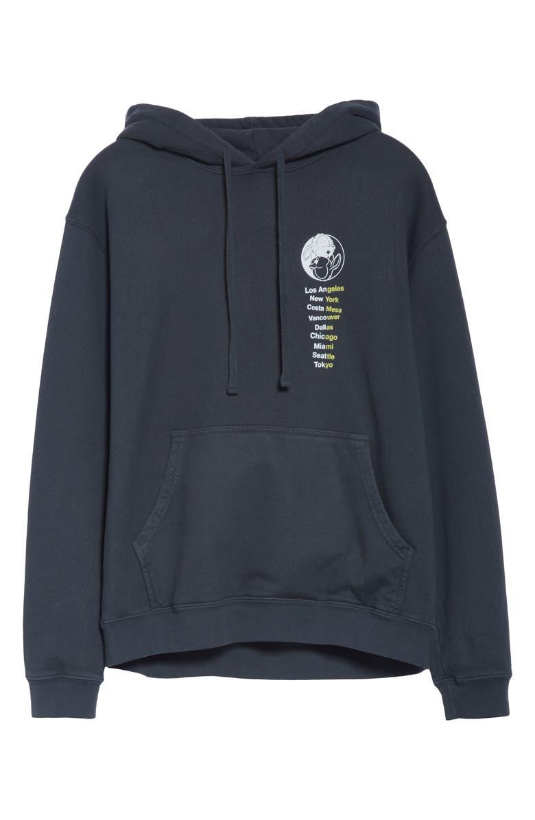 UNION PRINTABLES Union & Company Hoodie, Main, color, BLACK