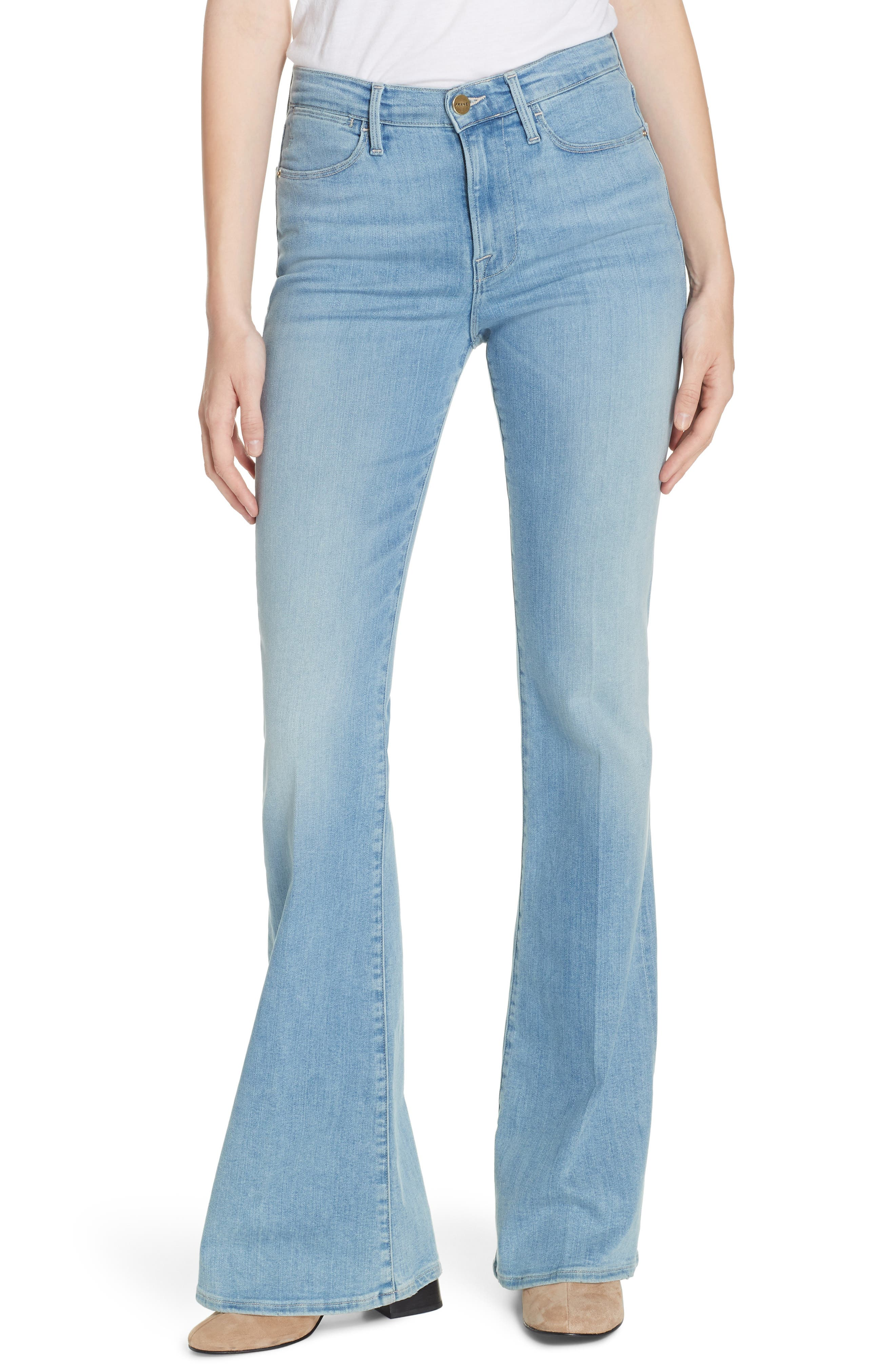 ,                             Le High Flare Jeans,                             Main thumbnail 8, color,                             450