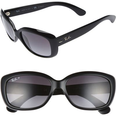 Ray-Ban 5m Polarized Sunglasses - Black Grey
