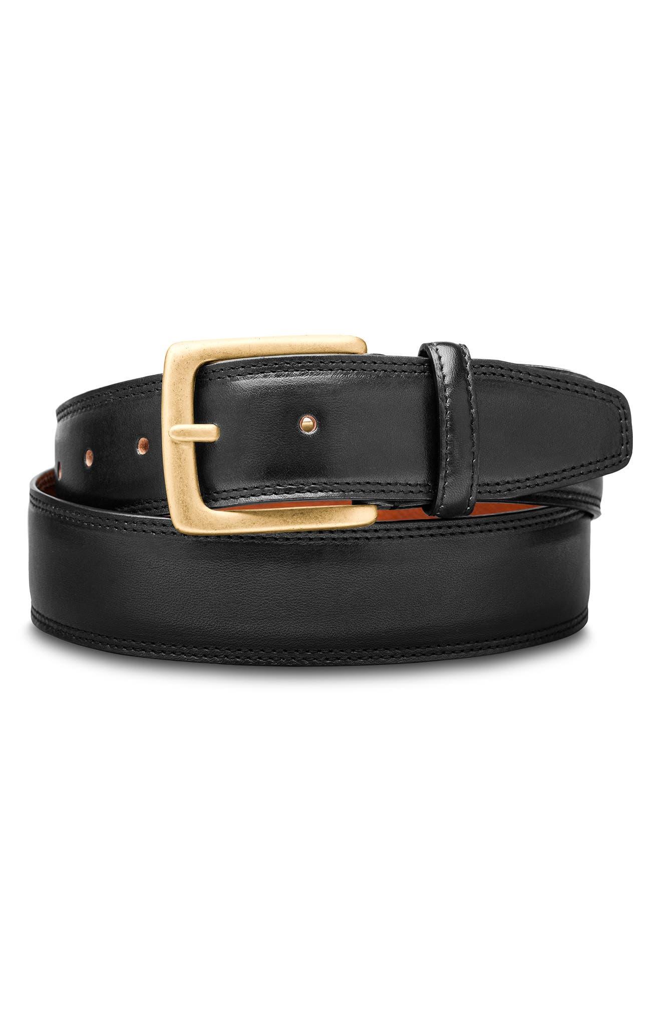 Amalfi Leather Belt
