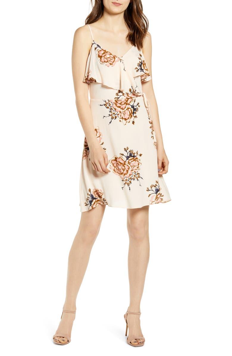 BISHOP + YOUNG Camilla Ruffle Sundress, Main, color, BLUSH
