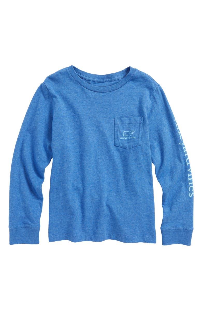 VINEYARD VINES Vintage Whale Pocket T-Shirt, Main, color, 488