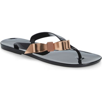 Ted Baker London Suszie Flip Flop, Black