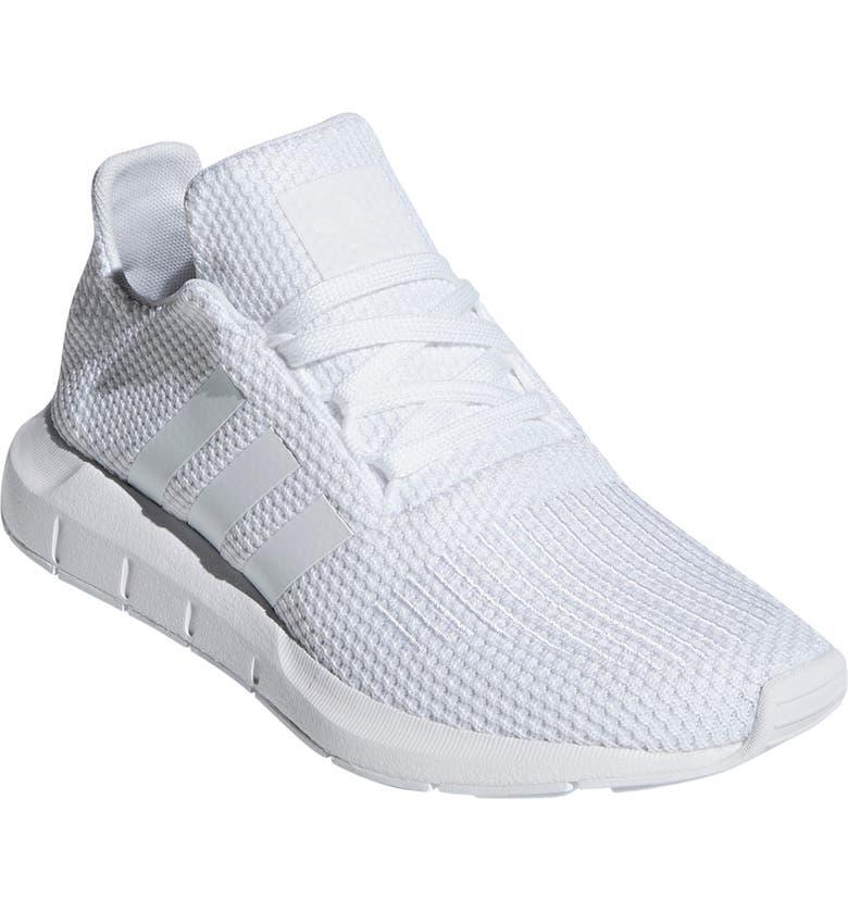 ADIDAS Swift Run Sneaker, Main, color, WHITE/ WHITE/ WHITE