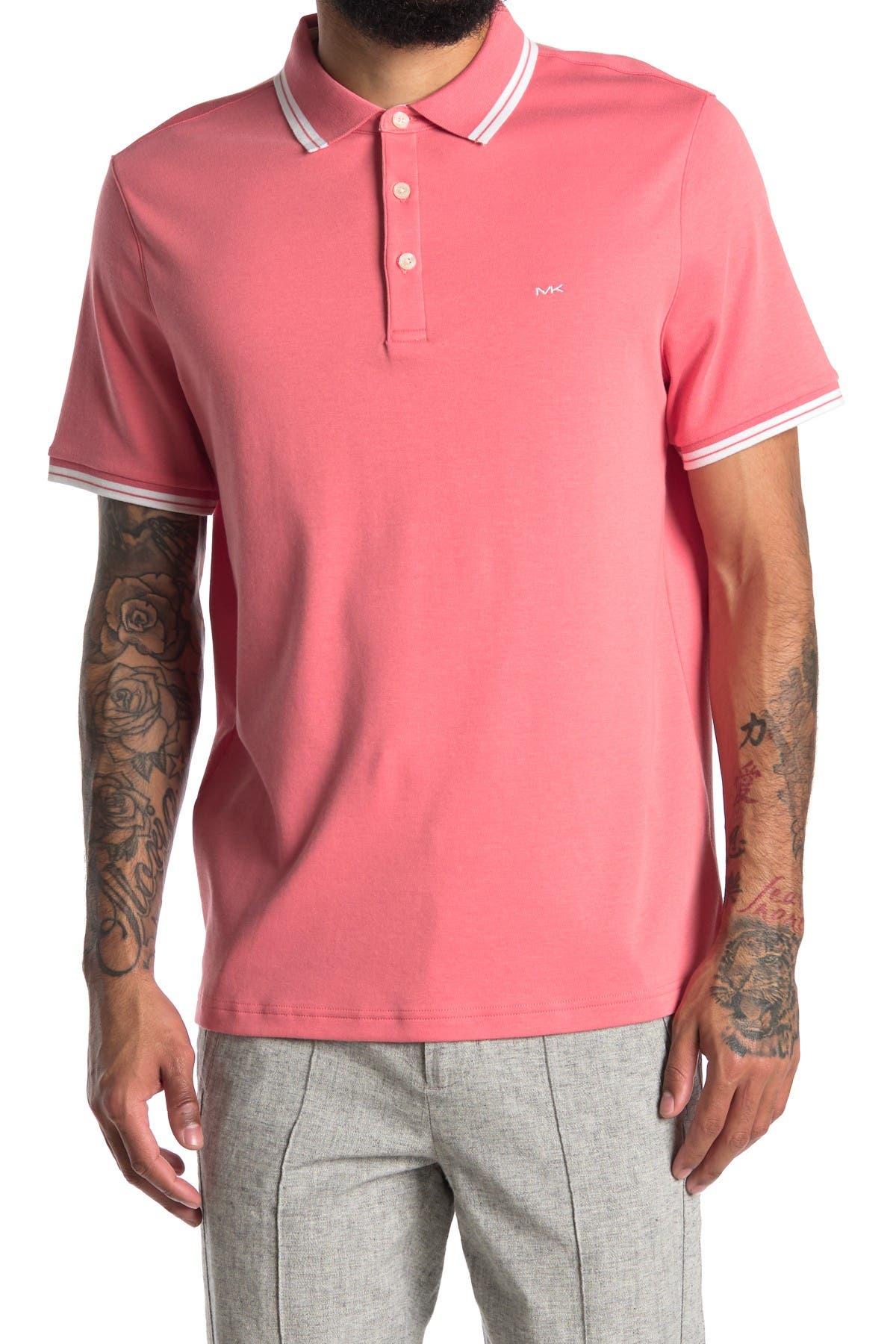 Image of Michael Kors Greenwhich Knit Polo Shirt
