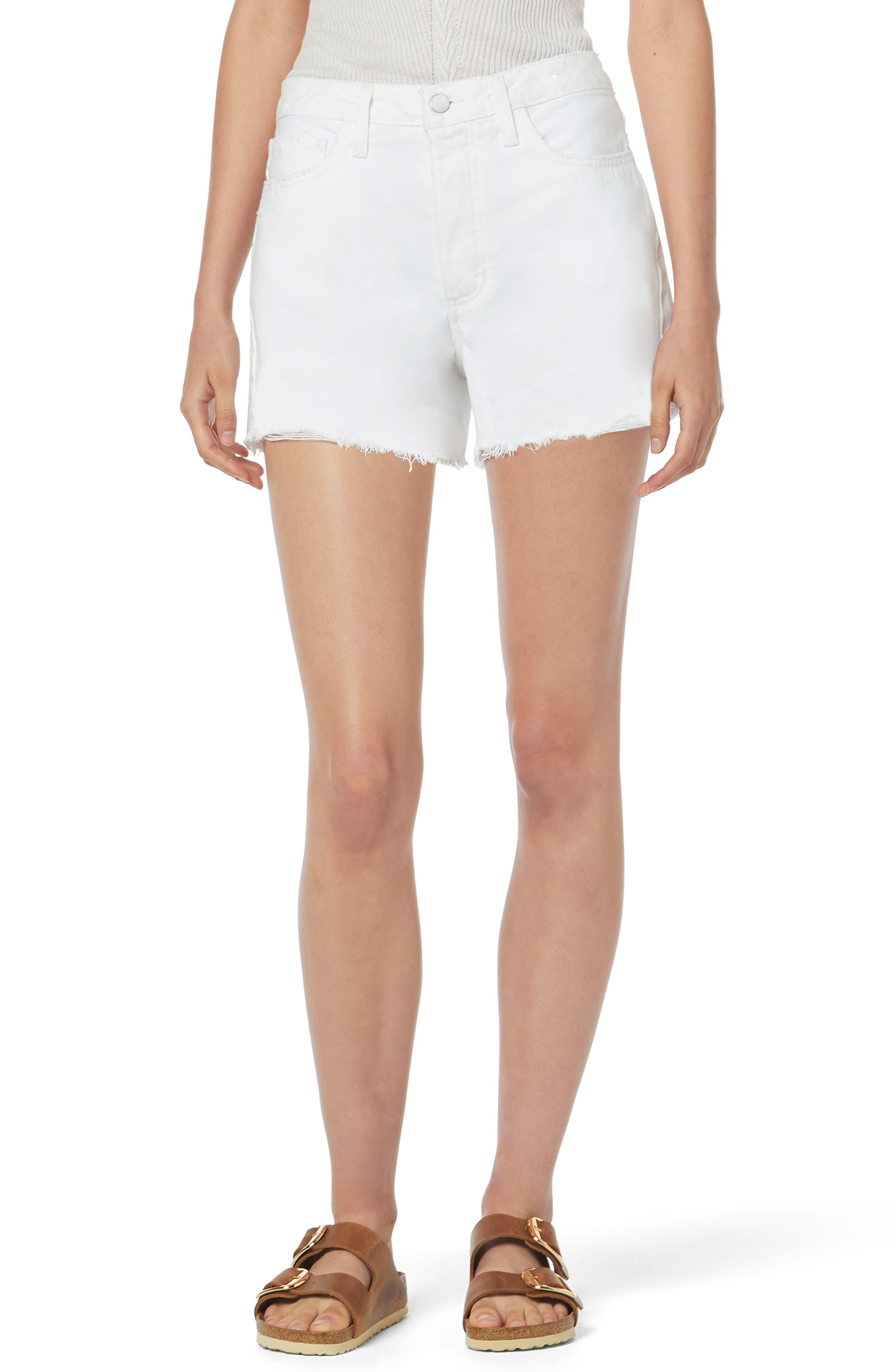 The Josie Boyfriend Denim Cutoff Shorts