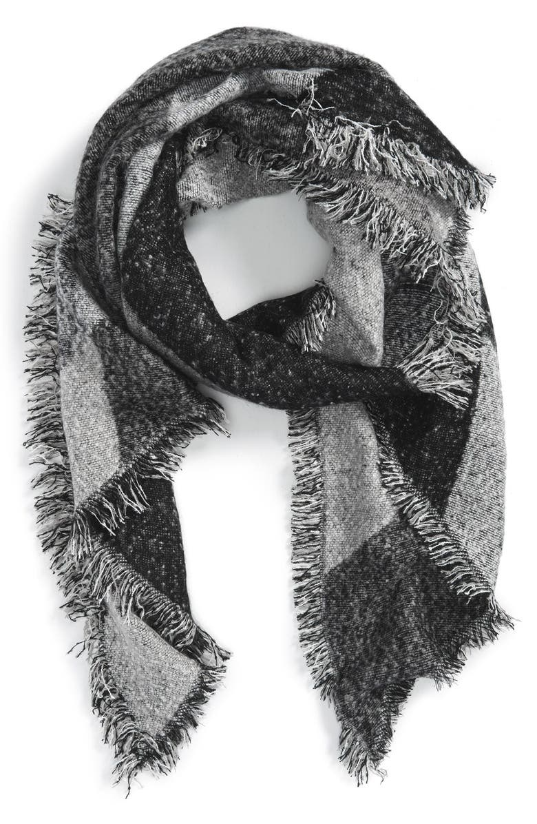 SAN DIEGO HAT Blanket Scarf, Main, color, 001