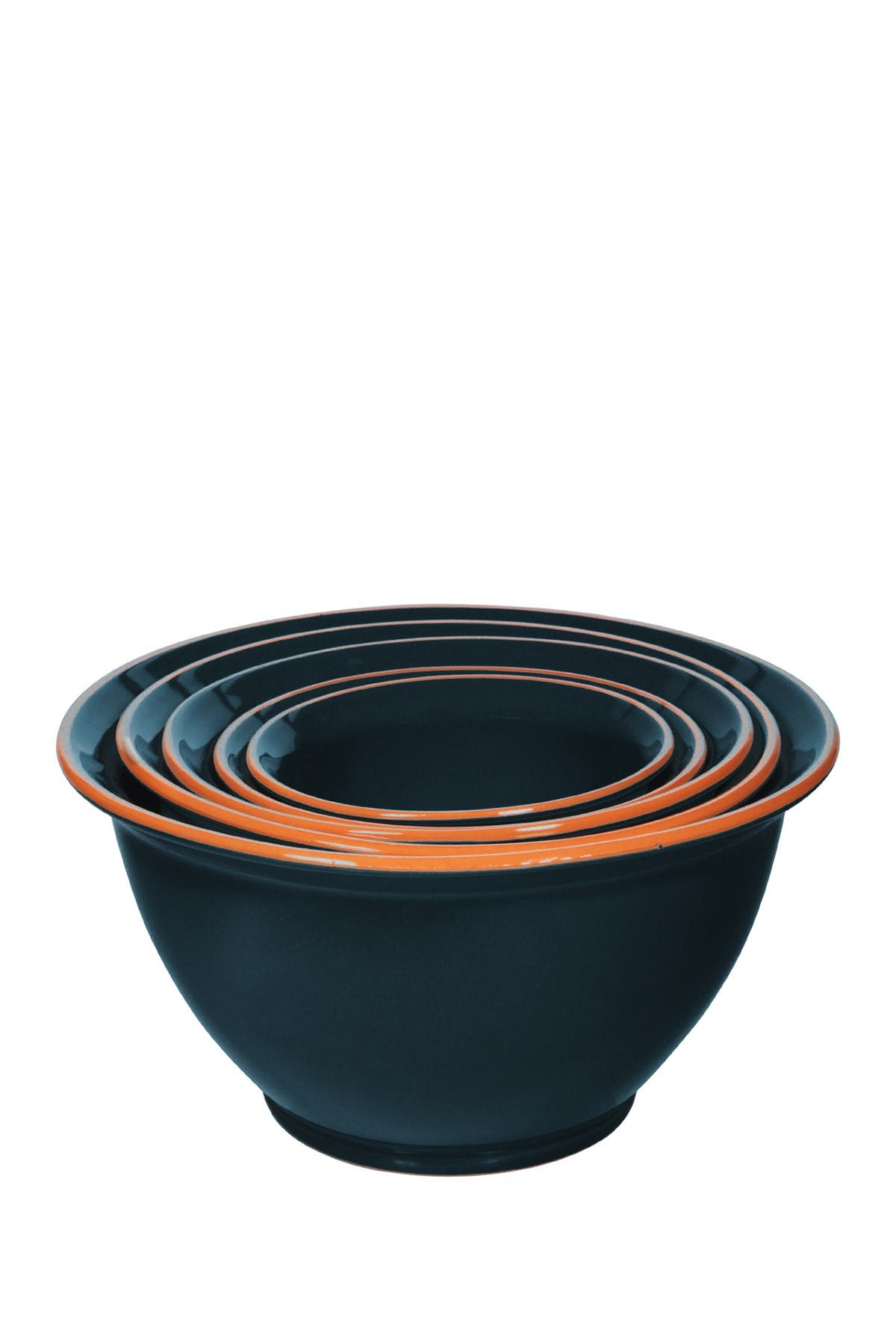 Image of Home Essentials and Beyond Navy Nested Mixing Bowls - Set of 5