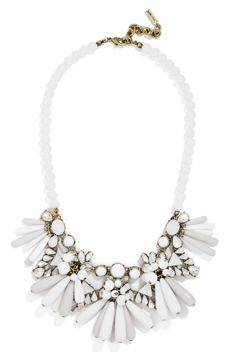 BAUBLEBAR 'Greta' Bib Necklace, Main, color, 100