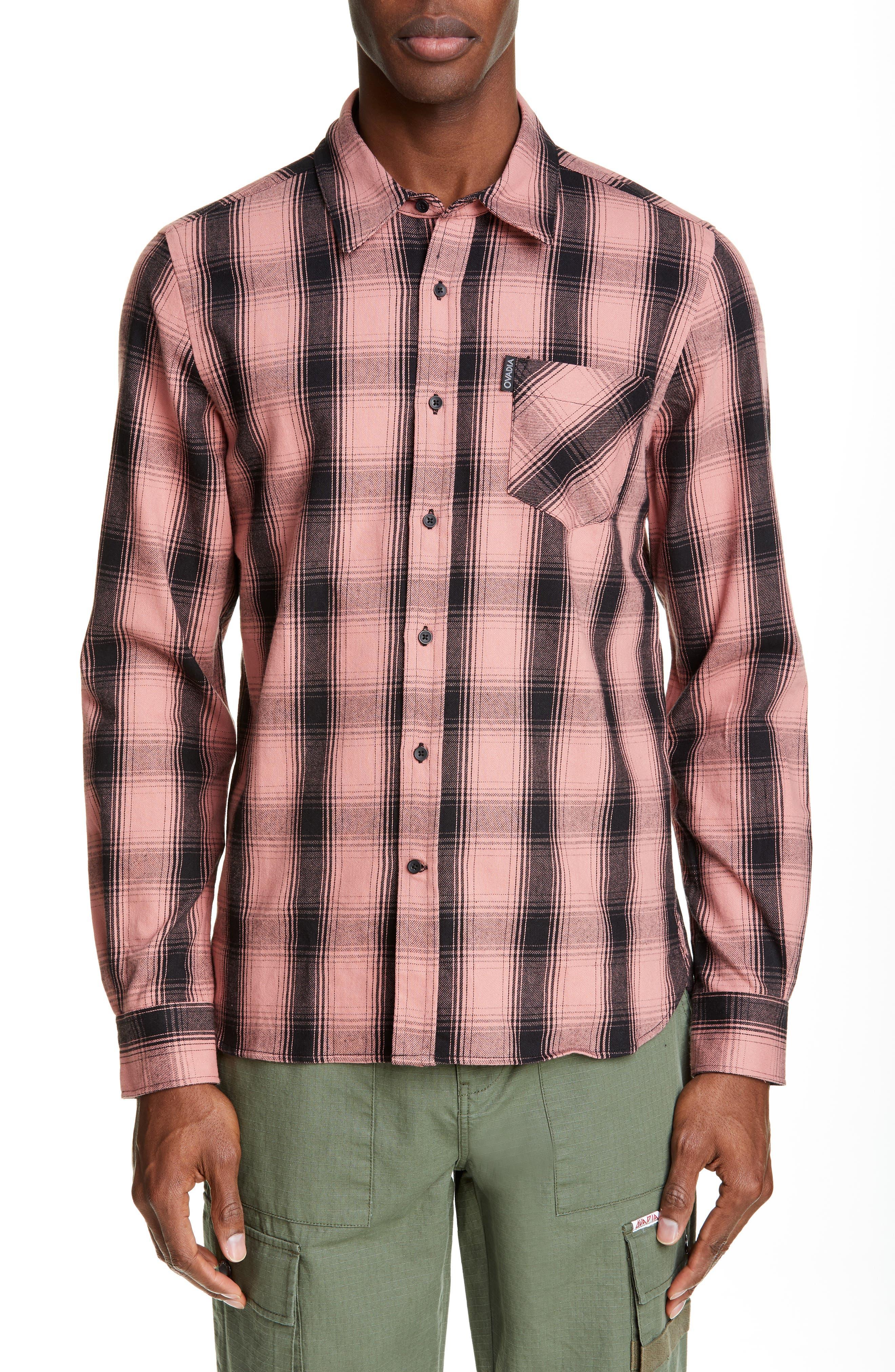 Ovadia & Sons Max Plaid Shirt, None