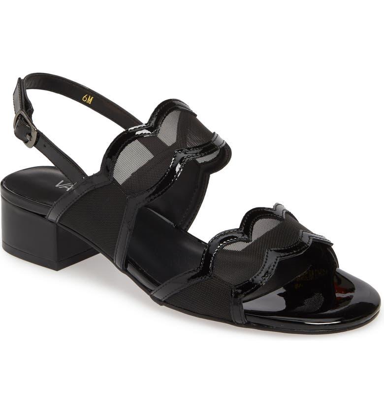 VANELI Hesper Scalloped Slingback Sandal, Main, color, 001