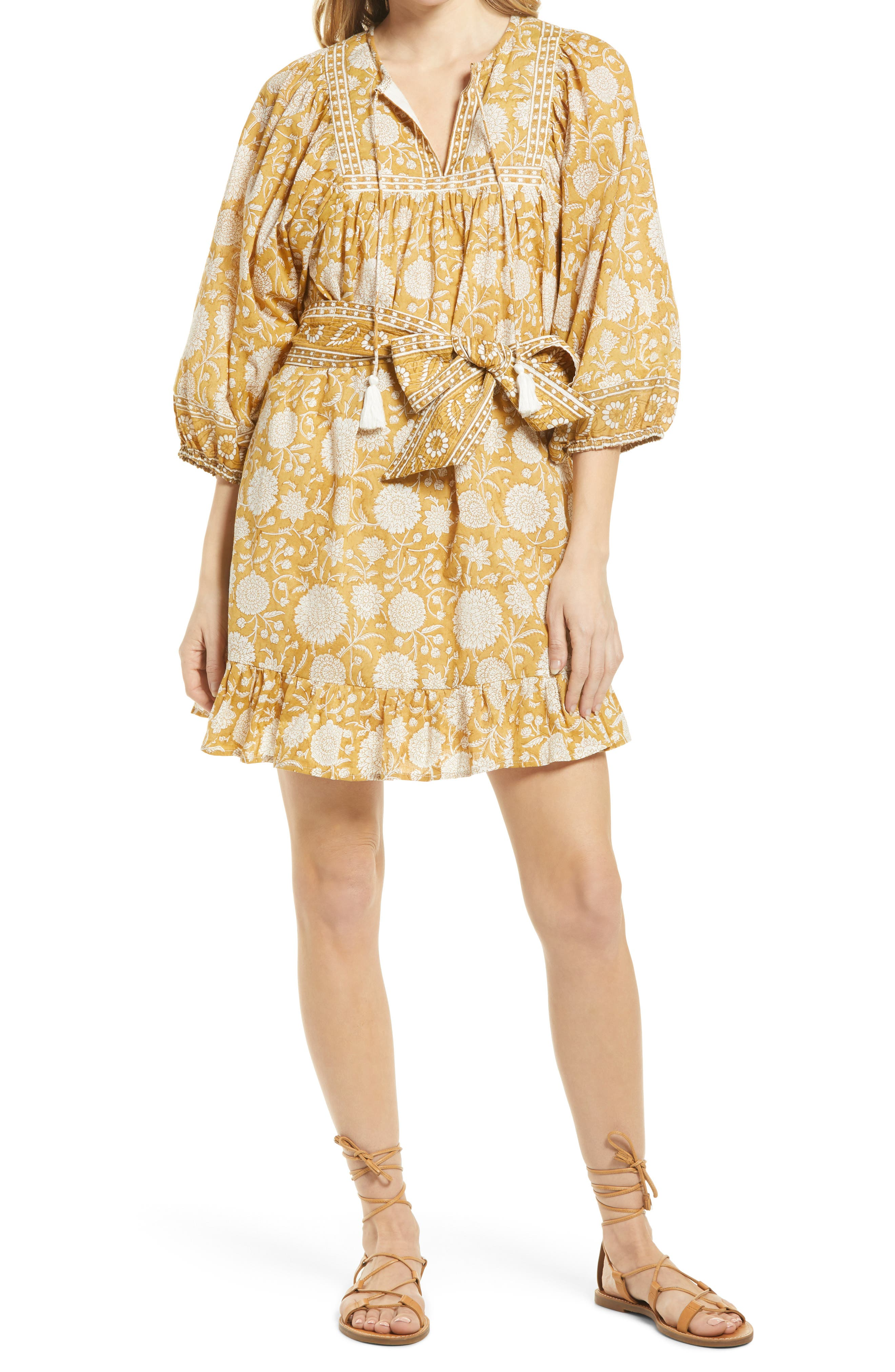 Magdalena Long Sleeve Minidress