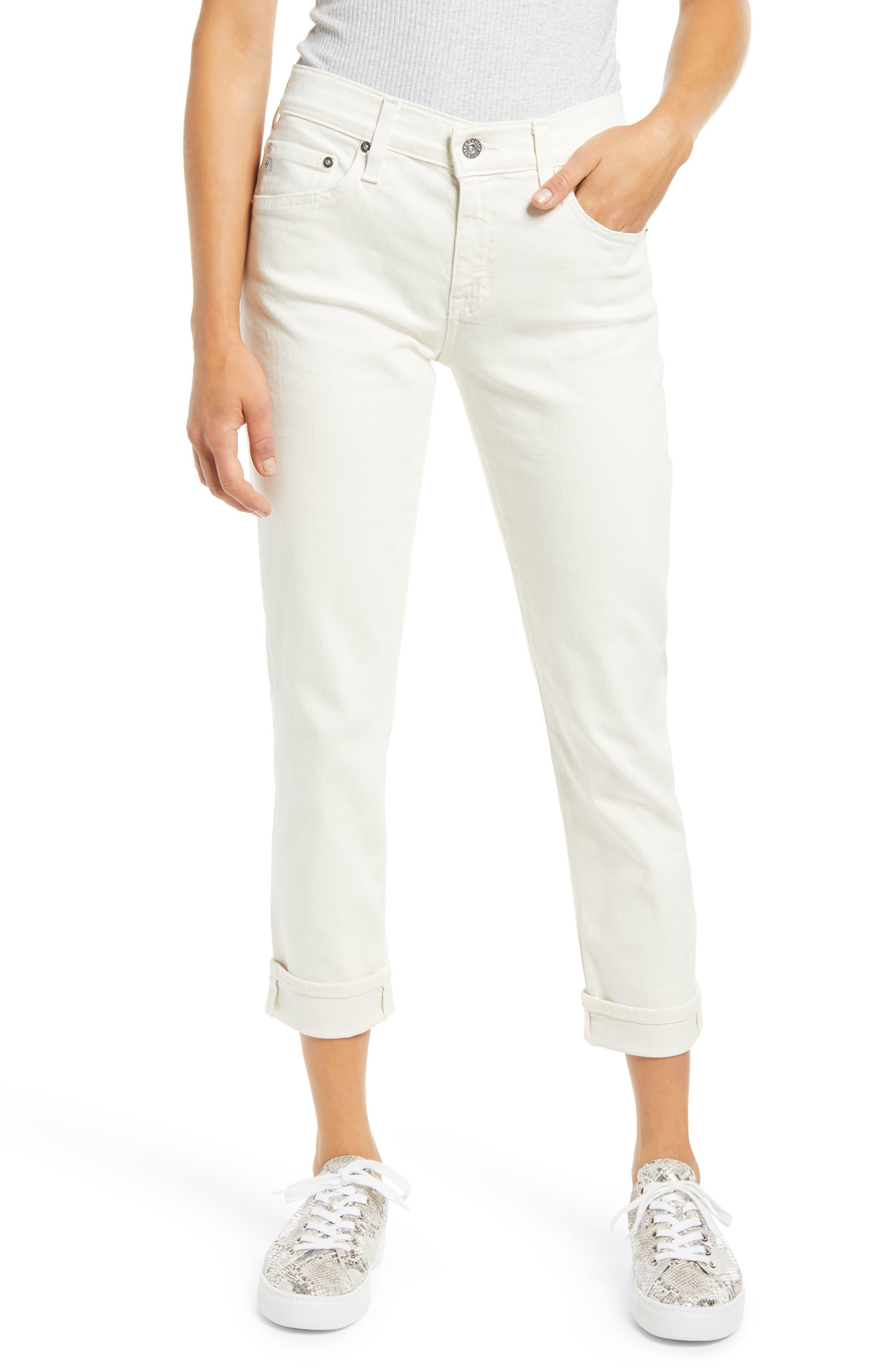 The Ex-Boyfriend Crop Slim Jeans