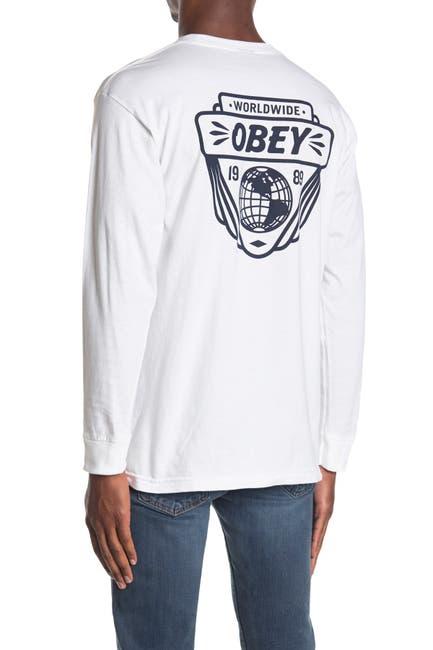Image of Obey Union Worldwide Crew Neck