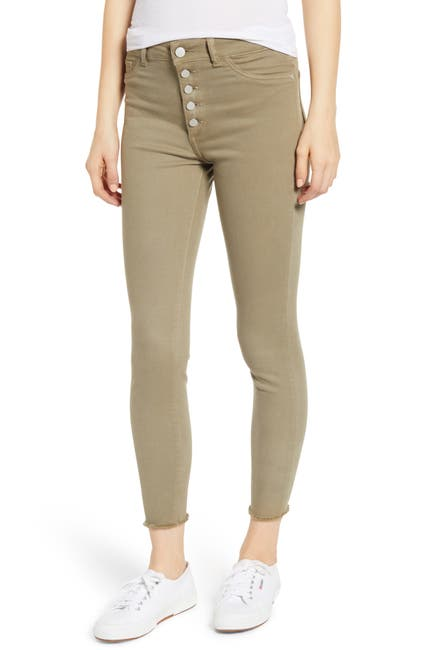 Image of DL1961 Farrow High Waist Crop Skinny Jeans
