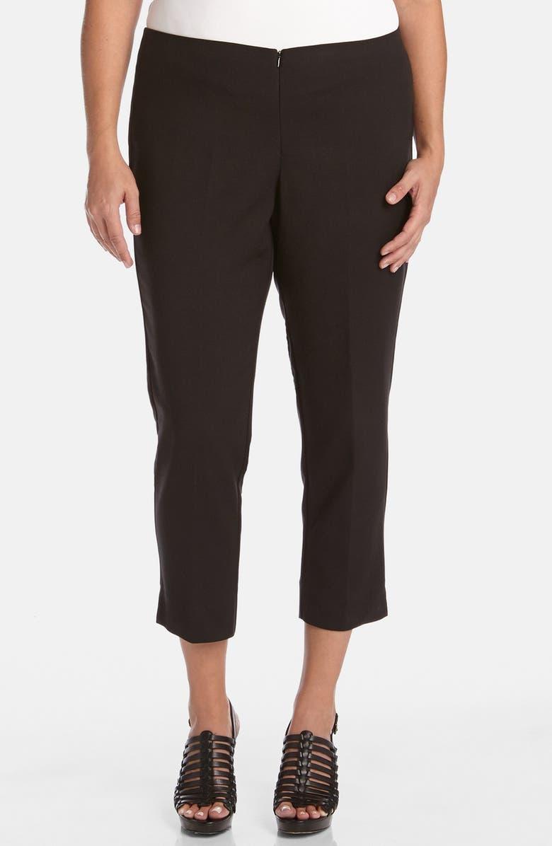 KAREN KANE Stretch Capri Pants, Main, color, 001