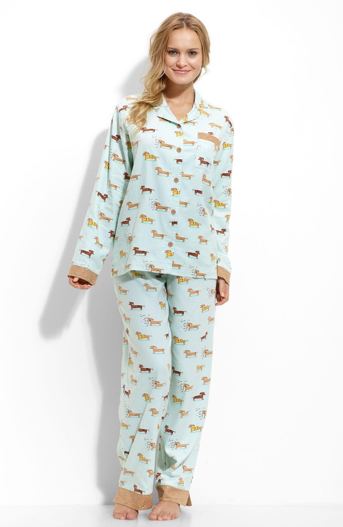 ,                             Flannel Pajamas,                             Main thumbnail 24, color,                             330
