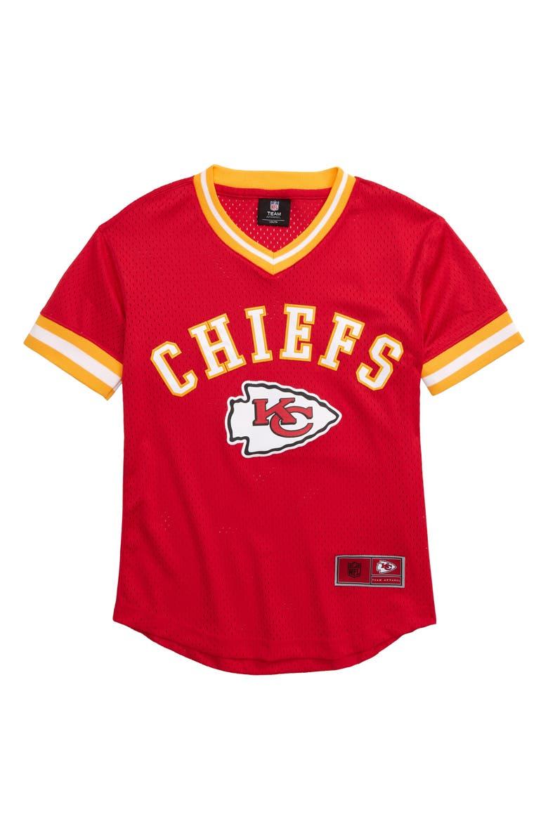 OUTERSTUFF NFL Logo Kansas City Chiefs Jersey, Main, color, 600