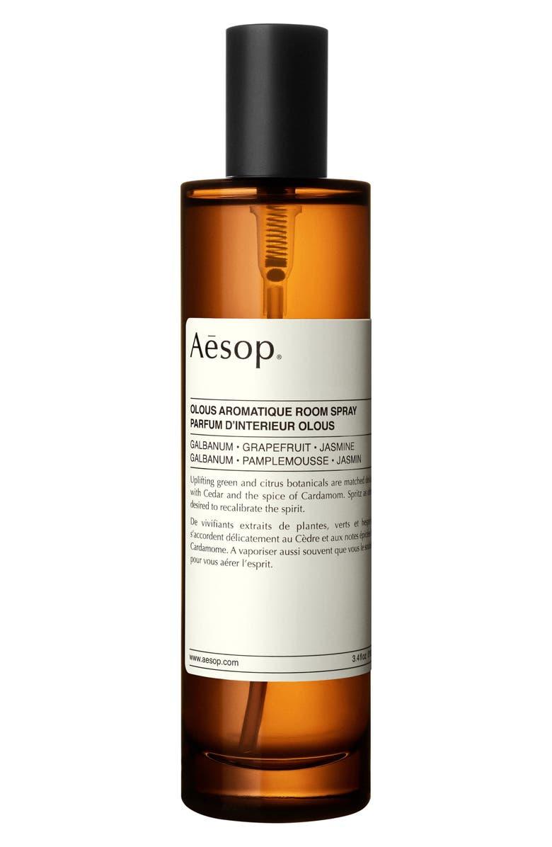 AESOP Aromatique Room Spray, Main, color, OLOUS