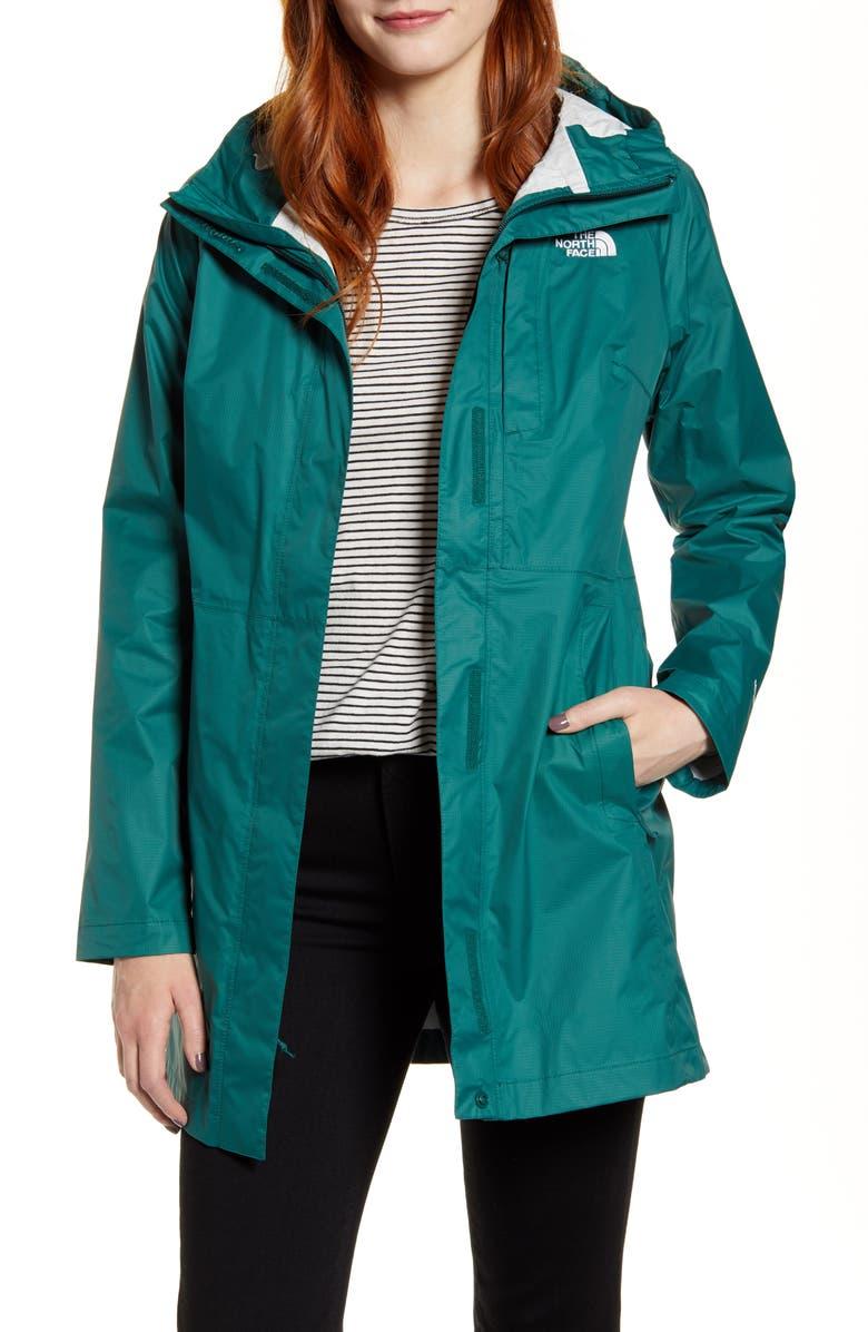 THE NORTH FACE Venture Weatherproof Rain Jacket, Main, color, BOTANICAL GARDEN GREEN