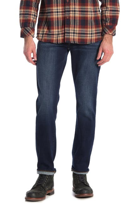"""Image of Lucky Brand 121 Slim Fit Jeans - 30-34"""" Inseam"""