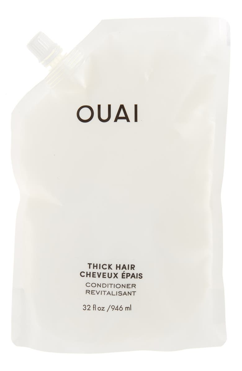 OUAI Thick Conditioner Refill Pouch, Main, color, 000