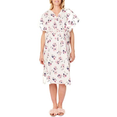 Ingrid & Isabel X James Fox & Co. Maternity/nursing Hospital Gown