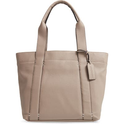 Sole Society Kwaye Faux Leather Tote - Beige