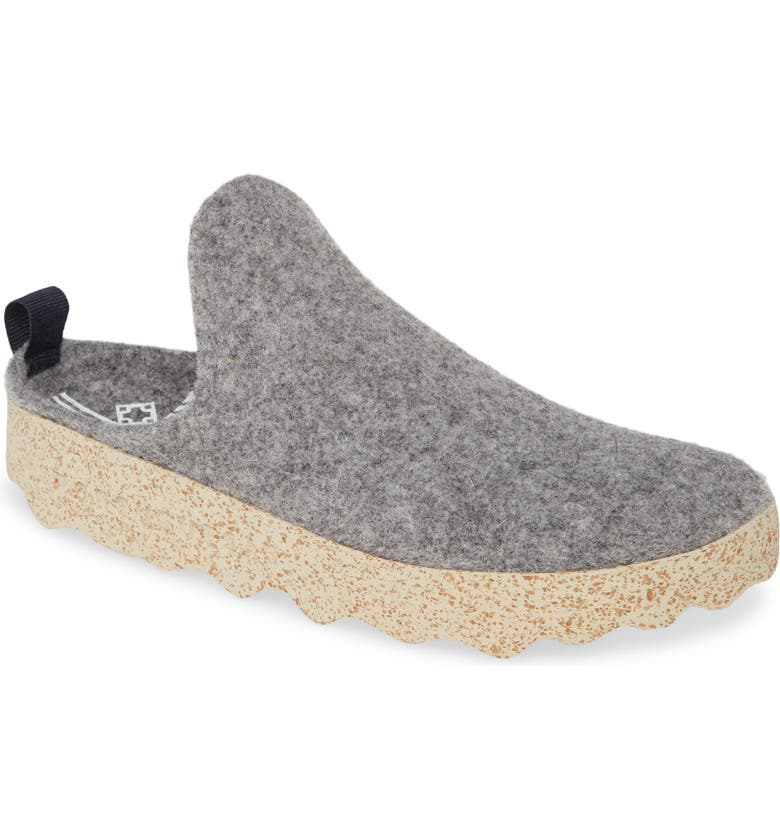 ASPORTUGUESAS BY FLY LONDON Fly London Come Slide Sneaker Mule, Main, color, CONCRETE TWEED FABRIC