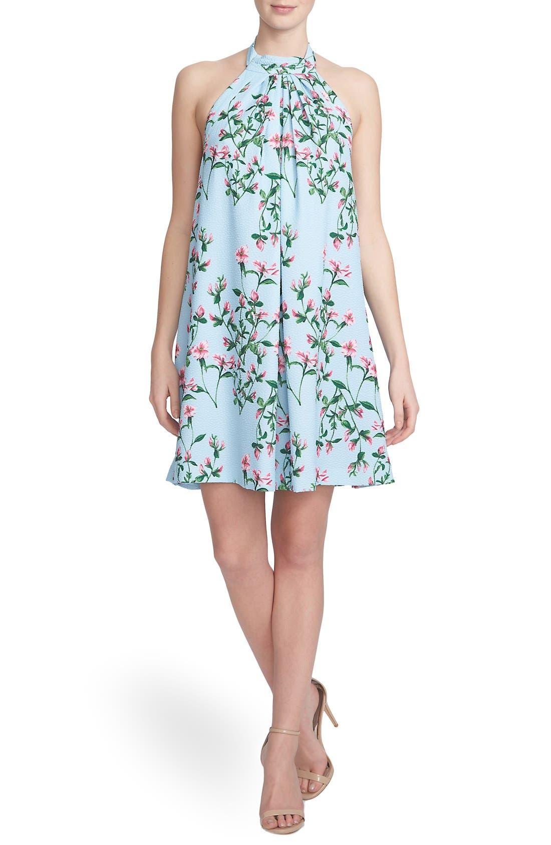 ,                             'Monte Petal Trellis' Halter Swing Dress,                             Main thumbnail 1, color,                             461