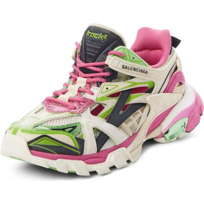 Balenciaga Track 2.0 Sneaker, Pink