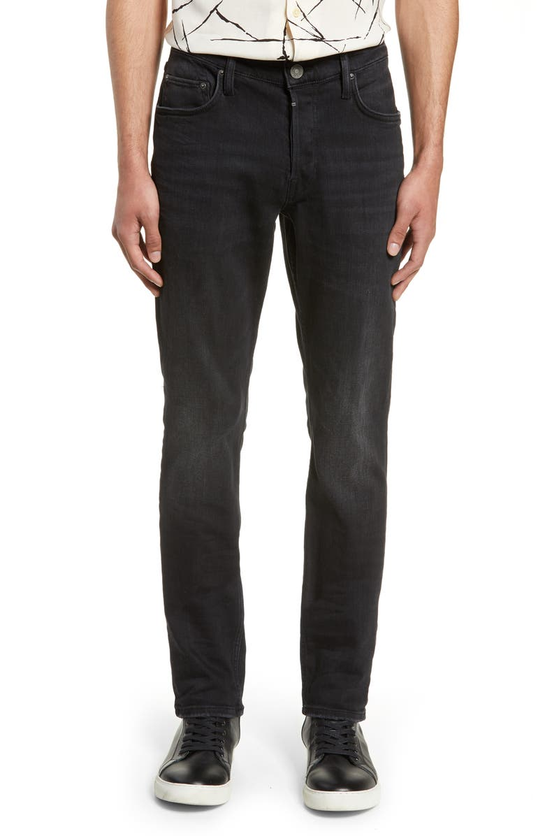 ALLSAINTS Rex Slim Fit Jeans, Main, color, DARK GREY
