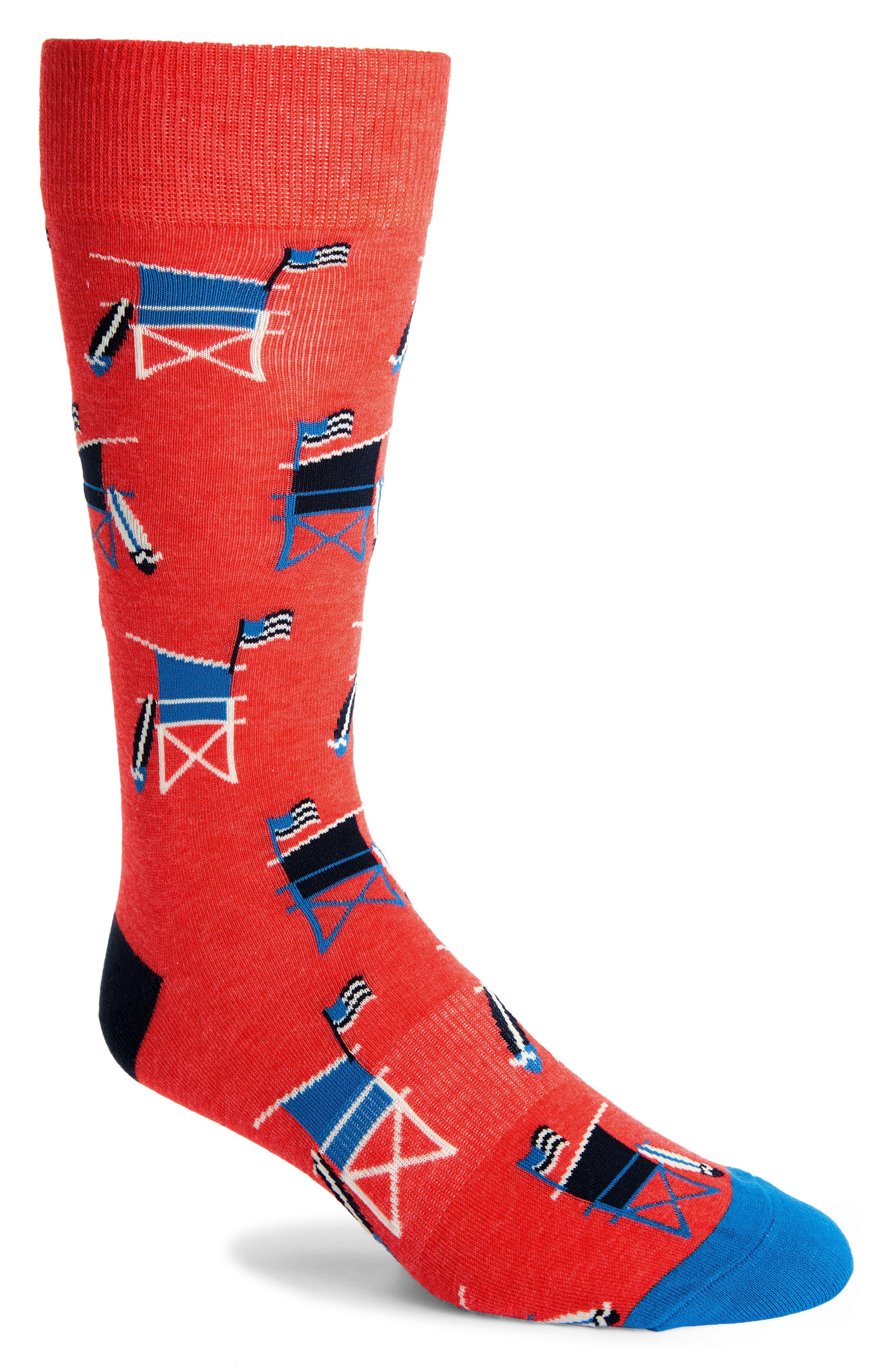 Men's Fun Socks Lifeguard Socks
