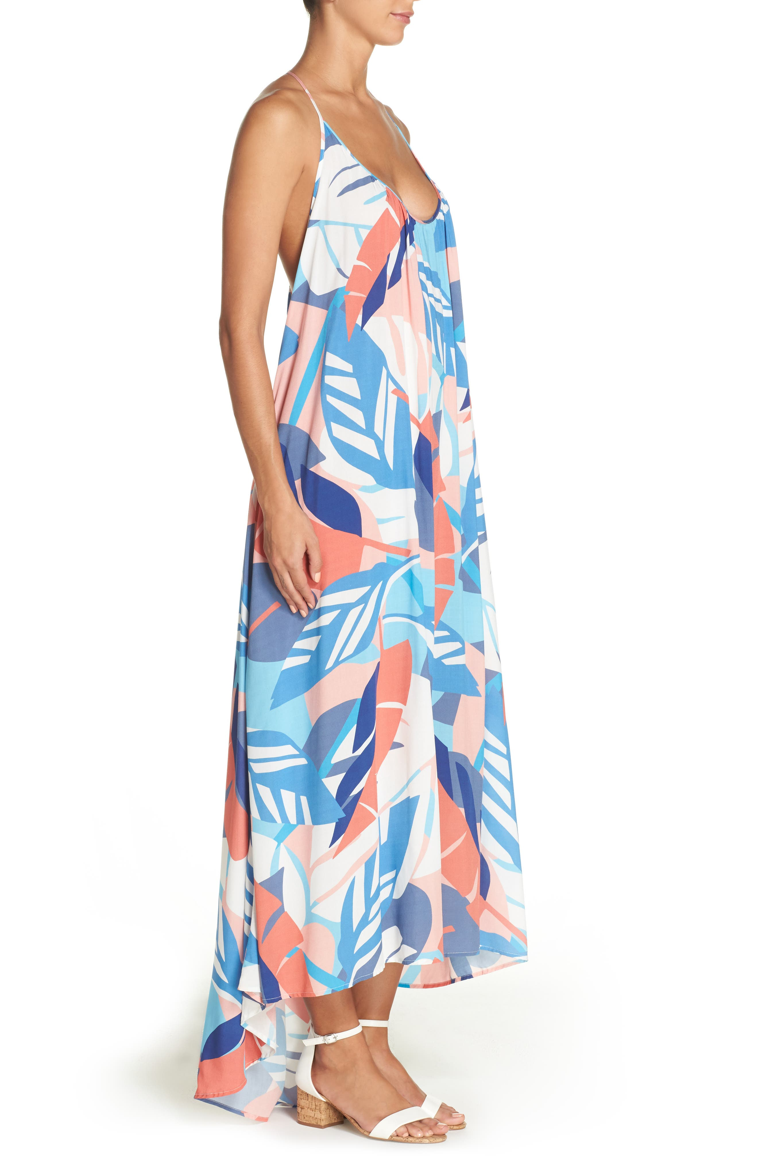 ,                             Cover-Up Maxi Dress,                             Alternate thumbnail 3, color,                             119