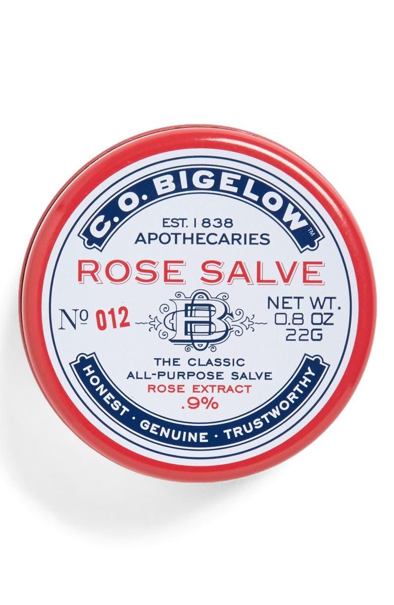C.O. BIGELOW <sup>®</sup> Rose Salve Lip Balm, Main, color, ROSE